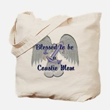 Blessed Coastie Mom Tote Bag