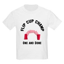 Flip Cup Champion T-Shirt