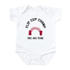Flip Cup Champion Infant Bodysuit