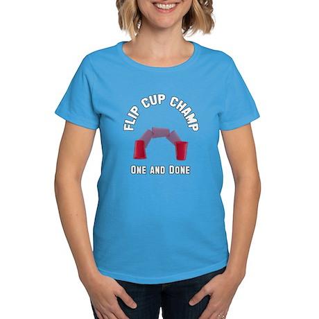 Flip Cup Champion Women's Dark T-Shirt