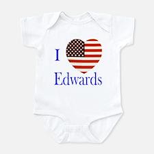 I Love Edwards! Infant Bodysuit