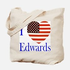 I Love Edwards! Tote Bag