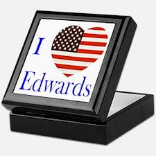 I Love Edwards! Keepsake Box