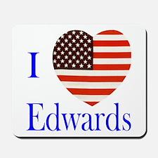 I Love Edwards! Mousepad