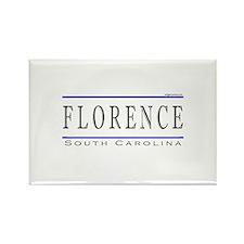 Cute Florence south carolina Rectangle Magnet