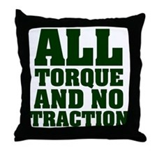 The All Action Throw Pillow