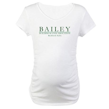 Bailey Bldg & Loan Maternity T-Shirt