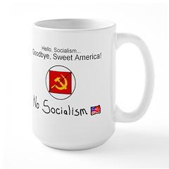 No socialism 5 Mugs