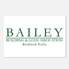 Bailey Bldg & Loan Postcards (Package of 8)