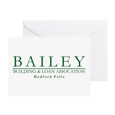 Bailey Bldg & Loan Greeting Cards (Pk of 10)