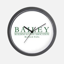 Bailey Bldg & Loan Wall Clock