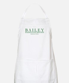 Bailey Bldg & Loan BBQ Apron