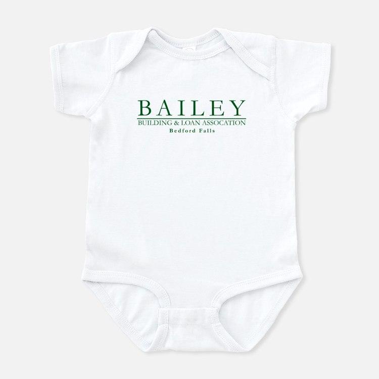 Bailey Bldg & Loan Infant Bodysuit