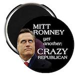 Mitt Romney Crazy Magnet