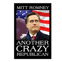 Mitt Romney Crazy Postcards (Package of 8)