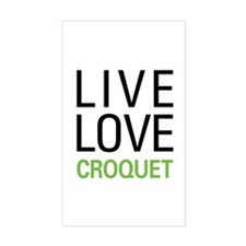 Live Love Croquet Decal