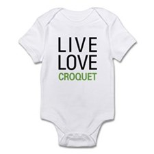 Live Love Croquet Infant Bodysuit