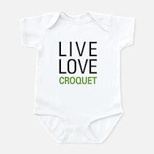 Live Love Croquet Infant Bodysuit