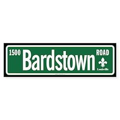 Bardstown Road sticker