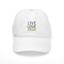 Live Love Cruise Baseball Cap