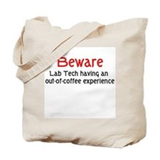 Lab Tech Tote Bag