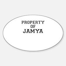 Property of JAMYA Decal