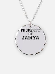 Property of JAMYA Necklace