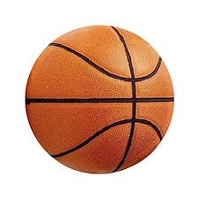 "Basketball Sports 3.5"" Purse Button"