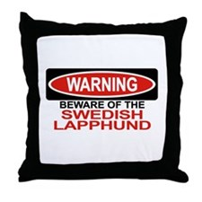 SWEDISH LAPPHUND Throw Pillow