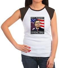 Mitt's Celestial Women's Cap Sleeve T-Shirt