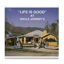 Uncle Johnny's Tile Coaster