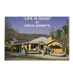 Uncle Johnny's Postcards (Package of 8)