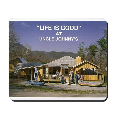 Uncle Johnny's Mousepad