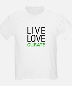 Live Love Curate T-Shirt