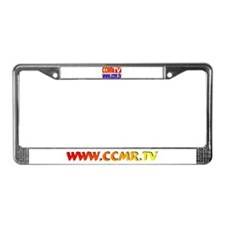 CCMR TV Network License Plate Frame
