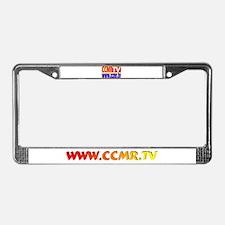 CCMR TV Network License Plate Frame