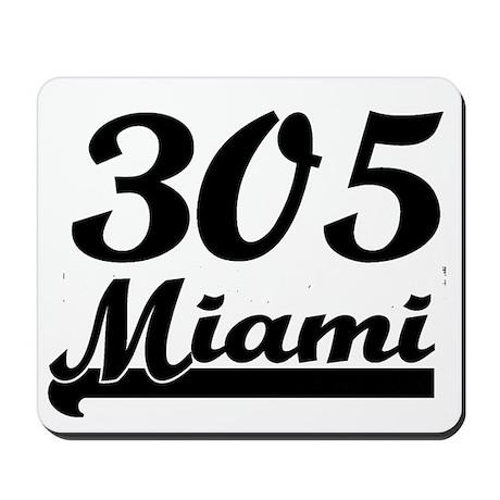 305 Miami 4 Mousepad