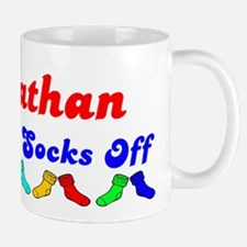 Johnathan Rocks Socks (B) Mug
