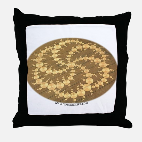 Circle Where Throw Pillow