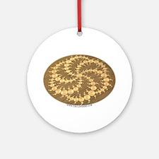Circle Where Ornament (Round)