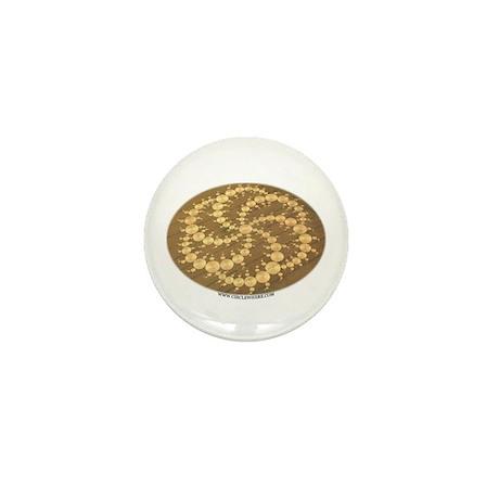 Circle Where Mini Button (100 pack)