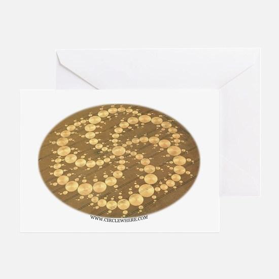 Circle Where Greeting Card