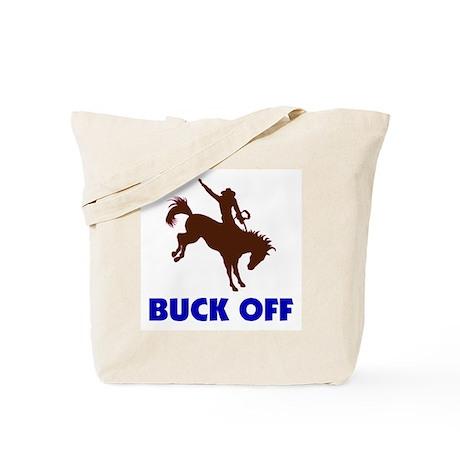 BUCK OFF Tote Bag