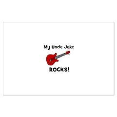 My Uncle Jake Rocks! guitar Posters