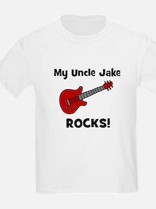 My Uncle Jake Rocks! guitar T-Shirt