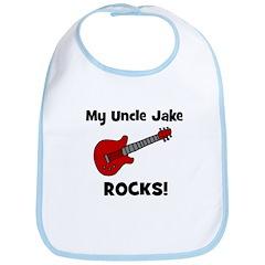 My Uncle Jake Rocks! guitar Bib