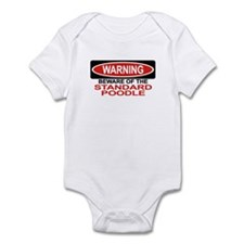 STANDARD POODLE Infant Bodysuit