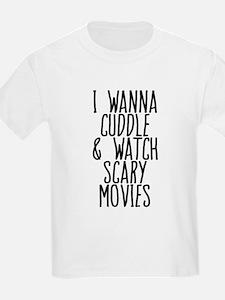 Cuddle Halloween Movies T-Shirt