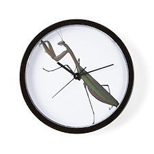 preying mantis Wall Clock