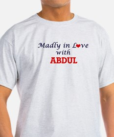Madly in love with Abdul T-Shirt